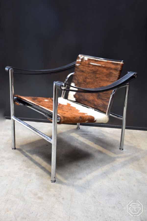 Fauteuil LC1 de Le Corbusier et Charlotte Perriand Cassina 1976