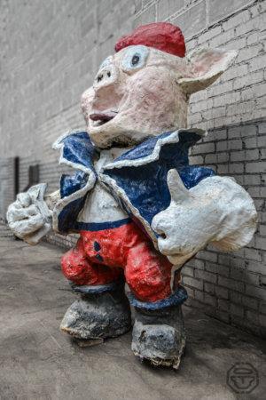 cochon papier