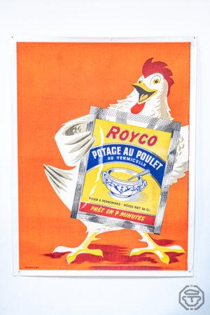 Ancienne affiche royco